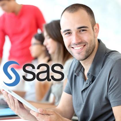 SAS es una de las herramienta de análisis estadístico más potentes del mercado. En este curso el alumno aprende a realizar todas las tareas del ciclo de análisis de datos con SAS: desde la extracción de la información, tratamiento de datos, modelización y visualización de la información.